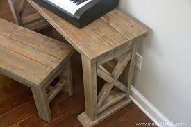 Keyboard Stand And Bench Diy Digital Piano Stand Plus Bench A 25 Project Make It