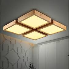 Cheap Ceiling Lights Buy Cheap Ceiling Lights For Big Save New Creative Oak Modern Led