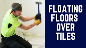 Laying Floating Laminate Flooring Floating Floors Over Tiles Save Time And Money With Surface