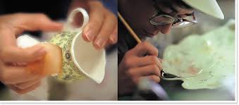 how bone china is produced tableware business narumi