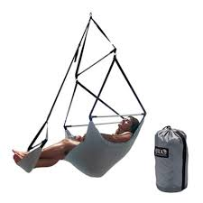Swinging Lounge Chair Creative Idea Eno Chair Eno Swinging Camp Chair Setting Up