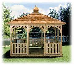 Wooden Pergolas For Sale by Wood Gazebo Kit Belair Wood Gazebo Kit Wooden Gazebo Plans And