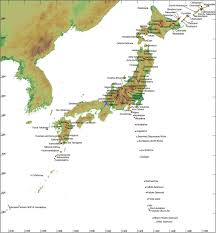 Map Japan National Catalogue Of The Active Volcanoes In Japan Location Map