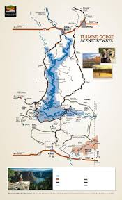 Red River Gorge Map Flaming Gorge Map