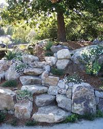 Boulder Landscaping Ideas 13 Steps And Path Ideas For Backyards Using Boulder Stones