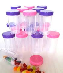 candy containers for favors 20 pill bottle jars doc mcstuffins party favor candy container