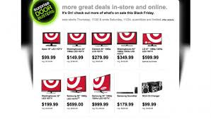 target samsung black friday surprise doorbuster black friday sale leaks