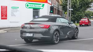 opel cascada holden badged opel cascada spotted in melbourne photos 1 of 15
