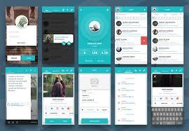 10 incredibly detailed free mobile ui kits for sketch 1stwebdesigner