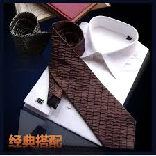 white french cuff dress shirt long sleeve men clothes men striped
