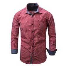 new arrival brand men u0027s shirt striped long sleeve plaid shirts