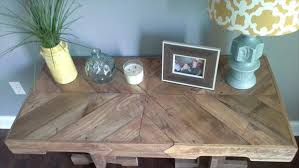 Diy Reclaimed Wood Table Top by Reclaimed Pallet Wood Desk Pallet Furniture Diy