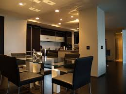high rise kitchen table a modern high rise penthouse with full home automation