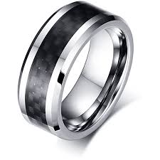 mens black wedding ring mens black wedding bands midnight collection manly bands