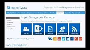 free sharepoint 2013 project management template youtube