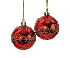 hanging and gold tree balls stock image image of