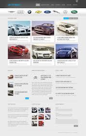 lexus car website car dealer website template 39897
