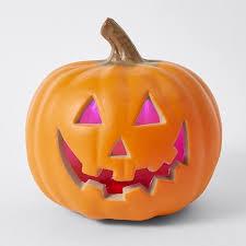 light up pumpkins for halloween halloween light up pumpkin 15 cheap halloween decorations in