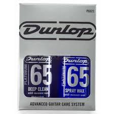 dunlop platinum 65 advanced guitar care system deep clean spray