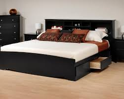 25 Incredible Queen Sized Beds by Creative Of Queen Storage Bed With Bookcase Headboard 25
