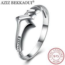 sted rings aziz bekkaoui 100 925 sterling silver unique spiral finger rings