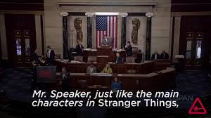 Stranger In The House by Stranger Things Are Afoot In The U S House Of Representatives