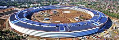 apple u0027s new solar powered spaceship office is nearly complete
