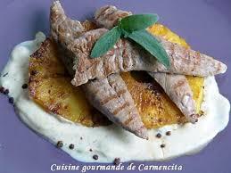 cuisiner les aiguillettes de canard recette d aiguillettes de canard à l ananas poêlé
