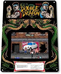 tin sign u201cdouble dragon arcade