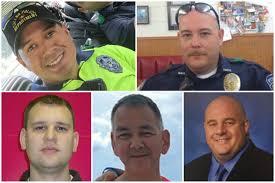 inside the lives of 5 slain dallas police officers new york post