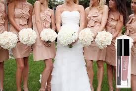 blush colored bridesmaid dress 7 on trend bridesmaid dress nail color combos