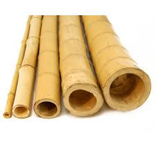 Bamboo Fencing Rolls Home Depot by Backyard X Scapes 2 In D X 8 Ft H Natural Bamboo Poles 10 Piece