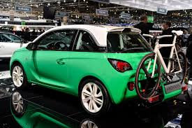 opel green adams are all over the place at opel u0027s geneva motor show booth w