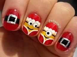 christmas minion nails youtube