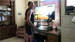 dr mercola shows his standing desk youtube