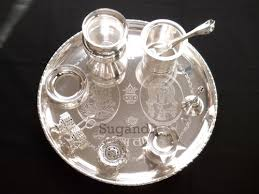 silver items leading manufacturers suppliers and exporters of pooja articles