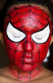 coloring pages amazing spiderman face paint painting makeup