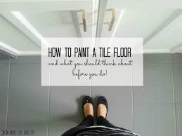 tile fresh how to paint tile floors amazing home design gallery