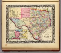 Tx Counties Map County Map Of Texas David Rumsey Historical Map Collection