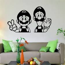 Super Mario Home Decor Super Mario Home Decor Wall Decals American Wall Decals