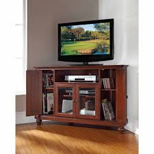 crosley furniture cambridge corner tv stand for tvs up to 48