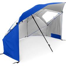 Large Beach Umbrella Target by Amazon Com Sklz Super Brella Blue Sports U0026 Outdoors