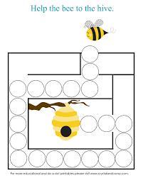 preschool do a dot printables bugs do a dot preschool and letter b