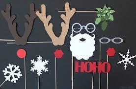 christmas photo booth props diy christmas photo booth