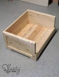 wooden pallet dog bed plans pallet wood projects build wooden dog