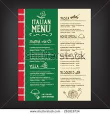 italian menu stock images royalty free images u0026 vectors