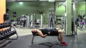 Bench Press For Biceps - dumbbell flat bench curl hasfit biceps exercise dumbbell bicep