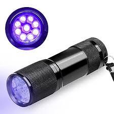bed bug uv light uv flashlight blacklight beboncool 9 led 395 nm ultraviolet