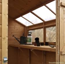cotswold shiplap 8x8 potting shed greenhouse stores