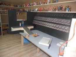 my wrestling hobby room with custom arena wrestlingfigs com